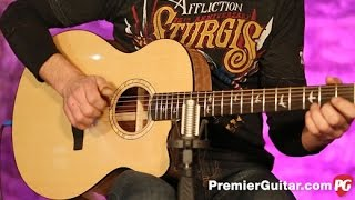 getlinkyoutube.com-Review Demo - PRS SE A15AL Alex Lifeson Thinline Signature