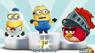 getlinkyoutube.com-Despicable Me: Minion Rush Minion Race Sonic Dash Angry Birds Epic Takeover Bomb To Unlock!