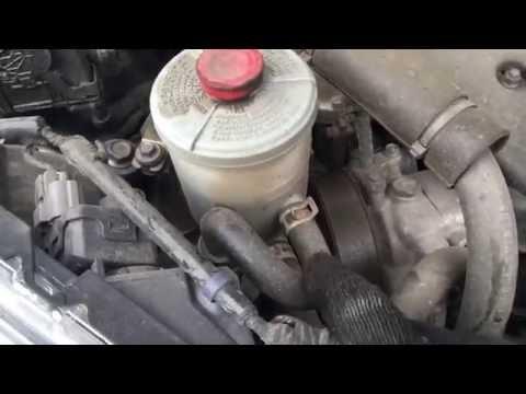 Honda CR-V 3 2,4 замена жидкости гидроусилителя на аналог Ravenol PSF