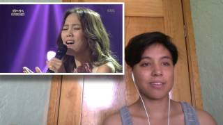 getlinkyoutube.com-So Hyang (소향) - Bridge Over Troubled Water (사이먼 앤 가펑클의 ) [Live] (Video Reaction by Cassie)