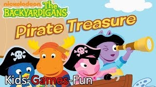 getlinkyoutube.com-The Backyardigans Pirate Treasure Episode - Full  Game - Dora the Explorer Go Diego Go