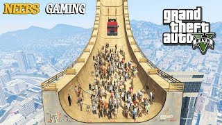 getlinkyoutube.com-GTA 5 MODS - MEGA RAMP EXPERIMENTS (Funny Moments)