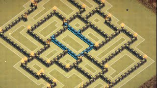 getlinkyoutube.com-Clan of Clans: Townhall 9 Clan War Base ll Centralized CC ll Early March 2015 Edition