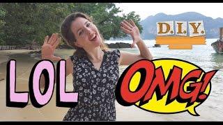 getlinkyoutube.com-Английские Сокращения LOL , ИМХО..? - Что Это?- Урок Английского из Таиланда
