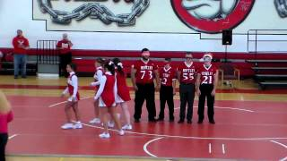 Bentlet High School Homecoming Assembly - Kiss and Tell - Football Player's Military Sister Suprise