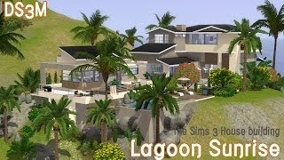 getlinkyoutube.com-The Sims 3 House Building - Lagoon Sunrise - Speed Build