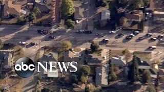 getlinkyoutube.com-San Bernardino Shooting: News Helicopter Captures Dramatic Play-by-Play