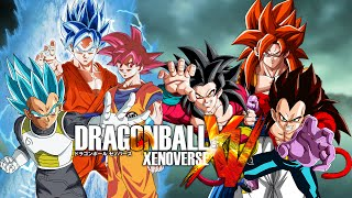 getlinkyoutube.com-Team Super Saiyan Gods VS Team Super Saiyan 4s | Dragon Ball Xenoverse (Duels)