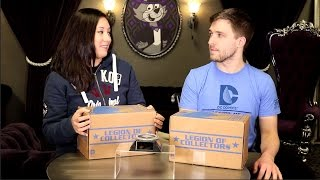 getlinkyoutube.com-Legion of Collectors: DC TV Unboxing