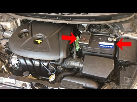 How to Replace Battery on Hyundai Elantra