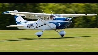 getlinkyoutube.com-Giant Scale Cessna 182 Skylane RC plane - 35% TMMY scale composite.