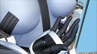 getlinkyoutube.com-【giantess】Growth to over 1000m【巨大娘】