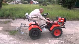 getlinkyoutube.com-Трактор 6-9л.с.