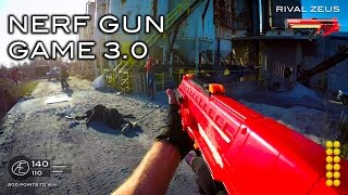 getlinkyoutube.com-Nerf meets Call of Duty: Gun Game 3.0 | First Person in 4K!