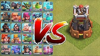 getlinkyoutube.com-Clash Of Clans - BOMB TOWER!! Vs. ALL TROOPS!! (New Defense update)