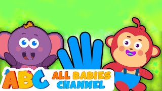 getlinkyoutube.com-Finger Family Collection | Animal Finger Family | Nursery Rhymes | All Babies Channel