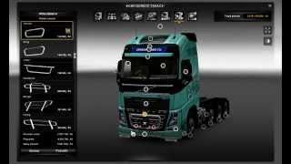 getlinkyoutube.com-Euro Truck Simulator 2 Volvo FH16 2013 + Tuning