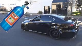 getlinkyoutube.com-2011 Lexus ISF Nitrous Oxide System Install - Gearhead Garage!
