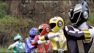getlinkyoutube.com-Go onger vs Gekiranger Henshin & Roll Call