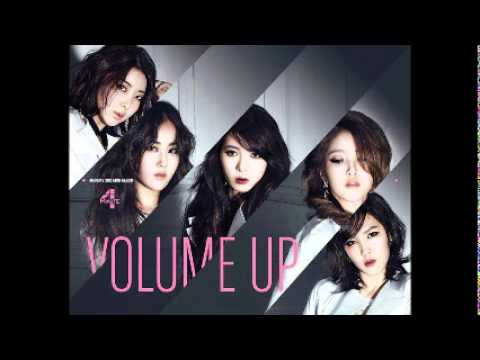4Minute - Volume Up [MR] (Instrumental)