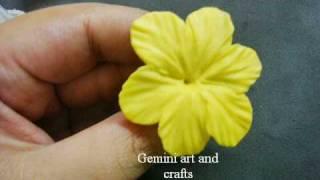 getlinkyoutube.com-Cold porcelain blossom tutorial
