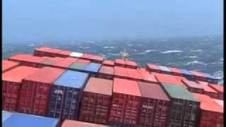 getlinkyoutube.com-Navio de Carga numa tempestade.avi