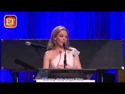 Kylie Minogue - Opens Up On Cancer Battle (EIF Benefit 2013)
