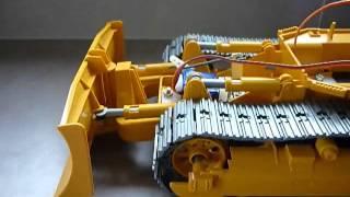 Bruder Cat D5 rc conversion - Blade test