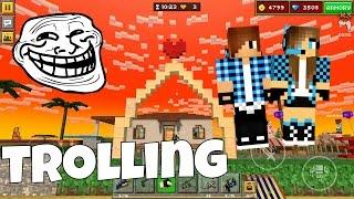 getlinkyoutube.com-Pixel Gun 3D - Trolling a Boy in Sandbox! with Dating and S*x