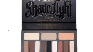 getlinkyoutube.com-Kat Von D Shade & Light Eye Contour Palette|| Review and Live Swatches!