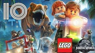 getlinkyoutube.com-Zagrajmy w: LEGO Jurassic World #10 - Idźcie za wrzaskami