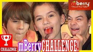 getlinkyoutube.com-THE mBERRY CHALLENGE!!     KITTIESMAMA