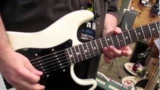 getlinkyoutube.com-Jake E Lee USA Tribute Guitar Aged by Palermo Guitars