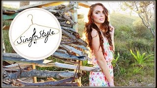 getlinkyoutube.com-Burning House Cover by Cam & My Best Summer Looks | Sing&Style