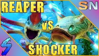 getlinkyoutube.com-Subnautica Gameplay   SHOCKER VS REAPER LEVIATHAN!!   HD 60FPS