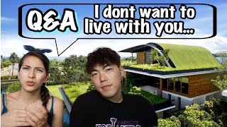 getlinkyoutube.com-Q&A Part 2: When will we live together? (Korean Bf + American Gf) OneWorld2Hearts