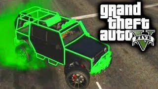 getlinkyoutube.com-How to Get a Rare Jeep - GTA V Online Tips and Tricks - Canis Mesa Off-Road Jeep GTA 5