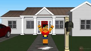getlinkyoutube.com-Minecraft Do Wat U Want  music  Video Animation