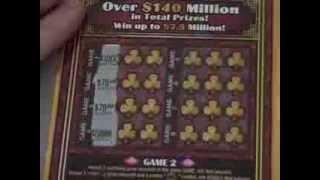 getlinkyoutube.com-TX Lottery: Both $50 Tickets! #9 and #10