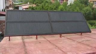 getlinkyoutube.com-Kolektor słoneczny z paneli grzejnikowych.wmv