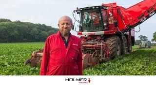Agrifac Holmer Exxact SixxTraxx Testimonial Peter Butler (United Kingdom)