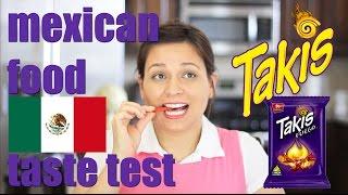 getlinkyoutube.com-MEXICAN TAKIS FOOD TASTE TEST #4