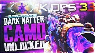 """UNLOCKING """"DARK MATTER CAMO"""" LIVE! BEST Black Ops 3 DARK MATTER REACTION EVER (Hilarious Reaction)"""