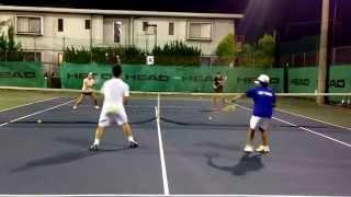 getlinkyoutube.com-【みんラボ】テニスレッスン駒田研究員がボレーの練習メニュー紹介します