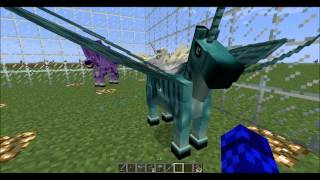 getlinkyoutube.com-Minecraft 1.5.2 - Mo' Creatures - Fairy Horses and Wyverns