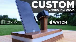 getlinkyoutube.com-Mike Makes a CUSTOM Apple Watch Charging Stand