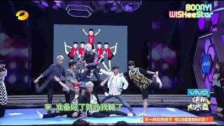 getlinkyoutube.com-[HD] EXO - 140705 Happy Camp 快乐大本营 (eng subbed)