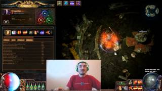 getlinkyoutube.com-[Path of Exile] Chaos Inoculating My Burning Discharge
