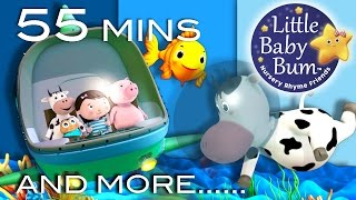 A Sailor Went To Sea | Plus Lots More Nursery Rhymes | 55 Minutes Compilation from LittleBabyBum!