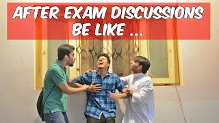 Funny After Exam Discussions Be Like l The Baigan Vines